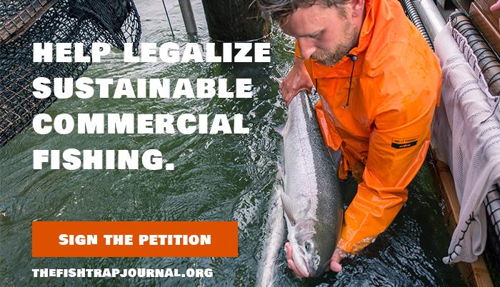 Fish Trap Petition Slider