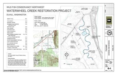Waterwheel Creek plans